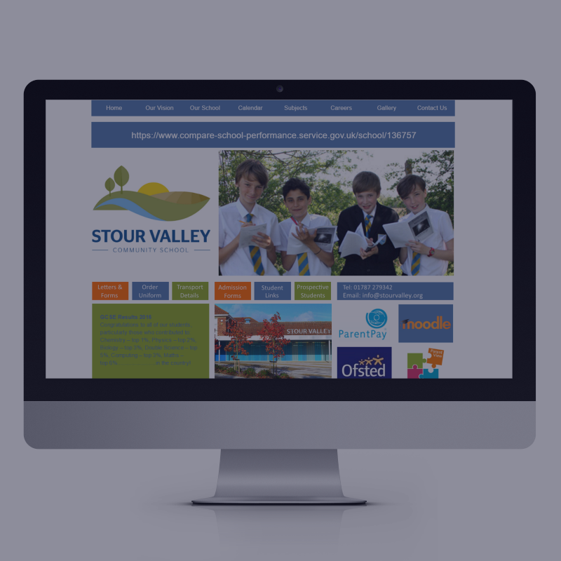 School Clients Website Design