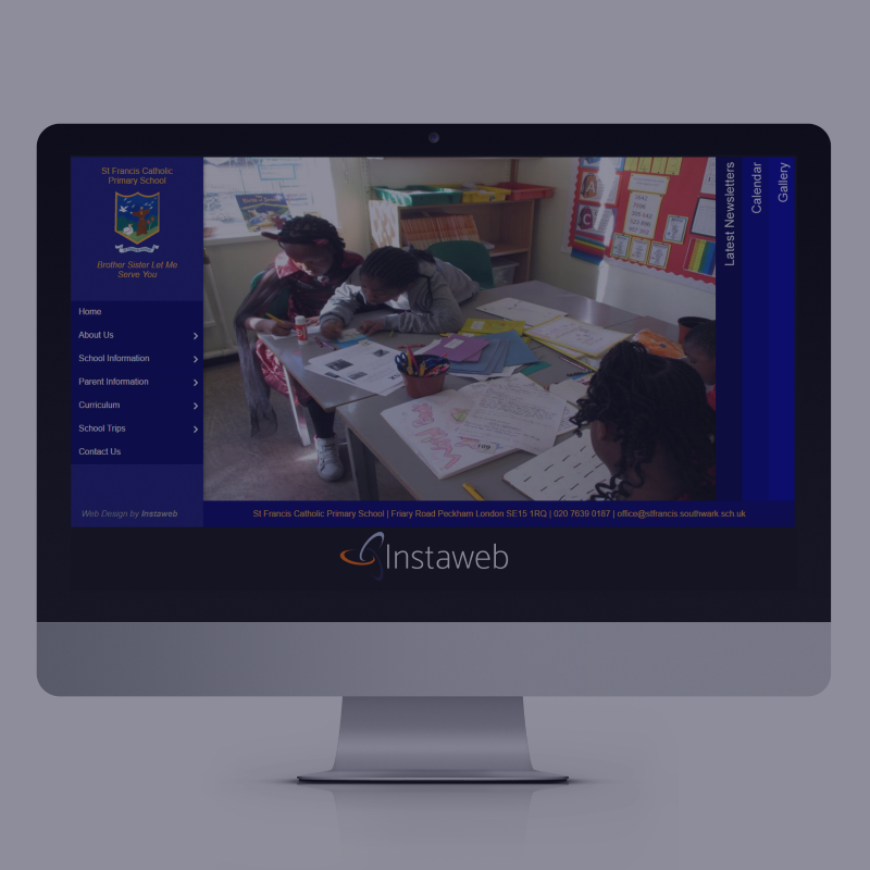 Primary School Clients Website Design